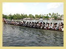 Alleppey Boatrace - The Nehru Trophy Boat Race named after Pandit Jawaharlal Nehru is conducted on the Punnamda Lake, near Alleppey